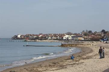 Seaview Beach, a short walk from the property