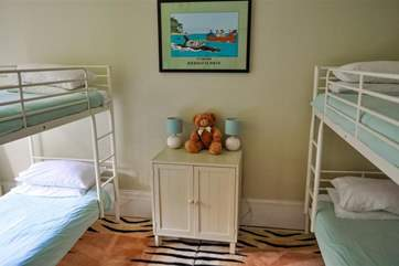 Childrens bunk room