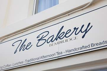 The Bakery and Cafe in Bembridge town is a must-go! Enjoy their freshly made cakes and meals with fresh Island produce.