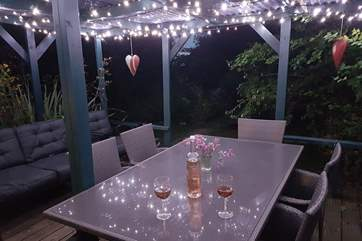 A beautiful place to sit in the evenings