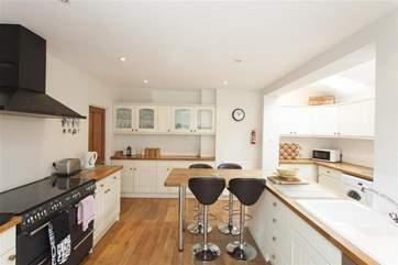 Modern light airy kitchen