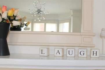 We hope you have fun & laughter at Rose Villa