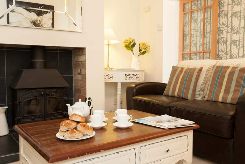Snuggle up in front of the fire on the colder evenings with a good book, a classic movie and maybe a cheeky glass of wine