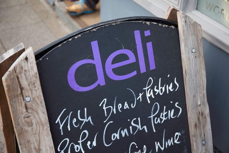 The Deli is Yarmouth is a fabulous shop where you can buy freshly cooked bread and local Island produce.