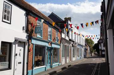 Yarmouth is full of lovely, independent boutique shops to grab some treats for friends and family back home