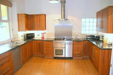 There is everything you would hope to find in such a well equipped kitchen