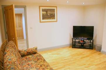 Lower ground floor snug room