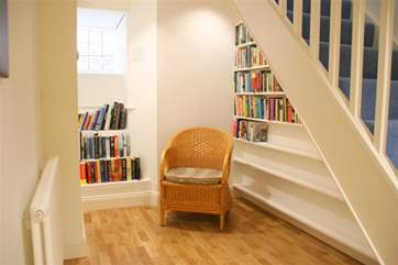 Plenty on offer to read during your holiday on the lower ground floor