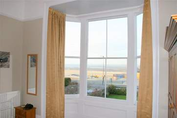 Sea views from the Master bedroom