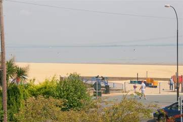 Appley Beach, a lovely, safe golden stretch of beach