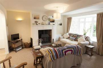 Cosy cottage living room