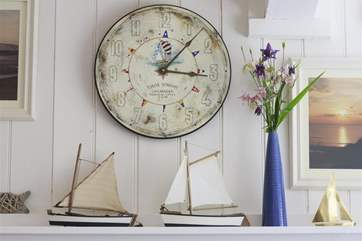 Nautical meets country cottage