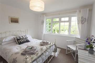 Main bedroom with pretty views