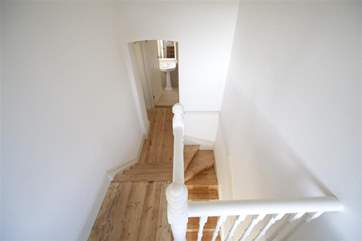 Light airy hallway and stairs