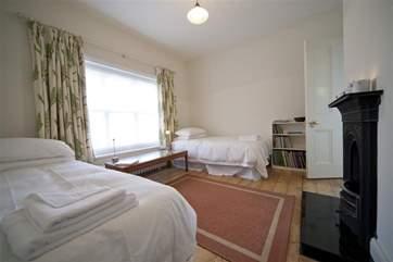 Twin bedroom on first floor