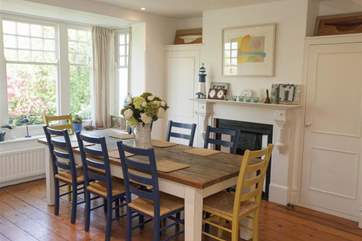 Dining-room with seating for up to 12