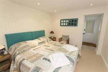 Double bedroom on lower ground floor