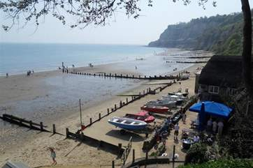 Head to the beach at the bottom of Shanklin Chine and you'll find The Fisherman's Cottage, a unique thatched pub dating back to 1817.
