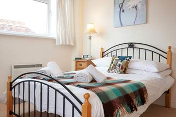 Comfort is key in the bedrooms at the Crows Nest.