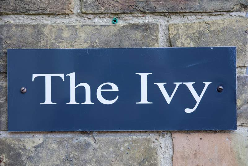 Welcome to The Ivy, have a wonderful stay