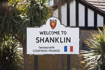 Welcome to the town of Shanklin