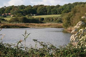 Enjoy spotting the wildlife on Hershey nature reserve just to the rear of the car park