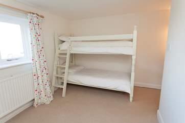 Bunk bedroom in The Annexe