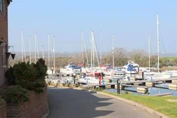 Close to the marina