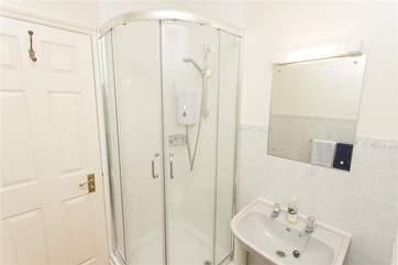 Shower room on second floor