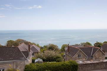 Stunning views from the property give additional reasons to enjoy this old fisherman's cottage.