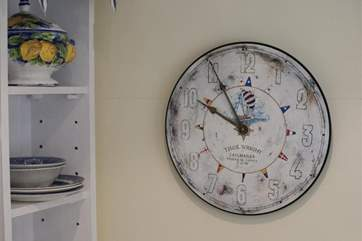 No need to watch the clock during your stay.