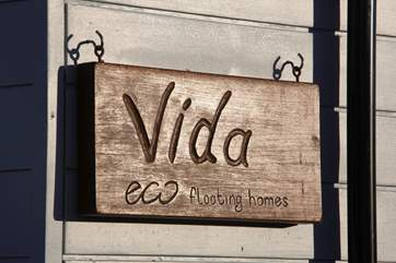 Vida is an Eco Floating Home.