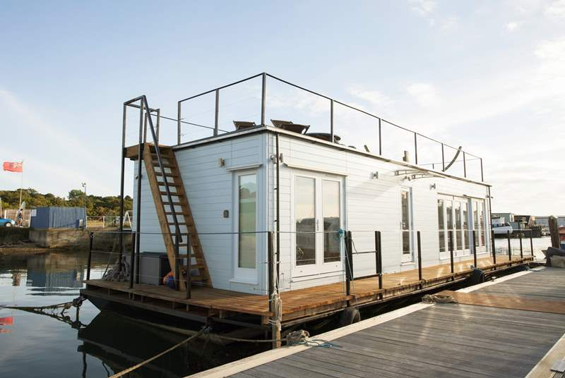 Vida Floating Home, really is just that! You couldn't get any closer to the water, you are on the water!