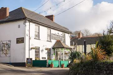 The friendly village pub.