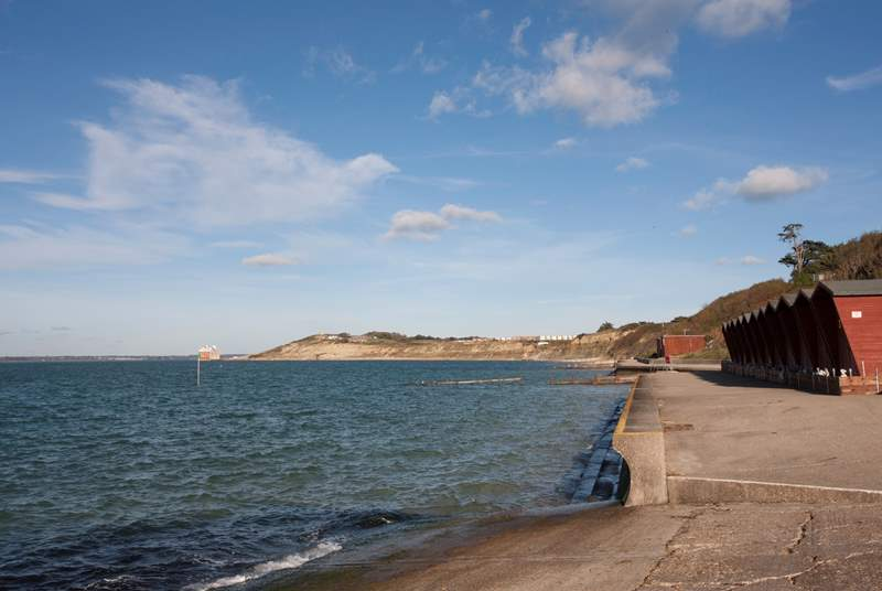 Coastal walks that stretch for miles are within easy reach of the property