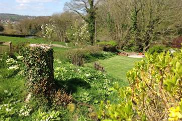 The gardens are delightful with magnificent far-reaching views.