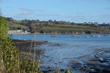 The Helford River and its estuaries are right on your doorstep, so if you like walking and wildlife watching you will be in holiday heaven.