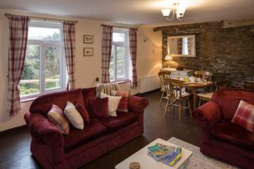 Great views of your beautiful surroundings can be enjoyed from the open plan living area.