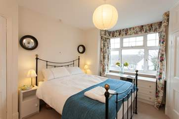 There are two lovely double bedrooms to choose from.