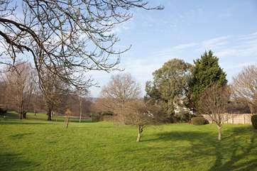 The nearby Sophie Watson Gardens are ideal for kids to run around and play