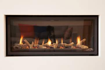 On those colder nights, why not cosy up in front of the fire with a good book?