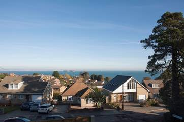 Sea Whispers has spectacular views across the Solent