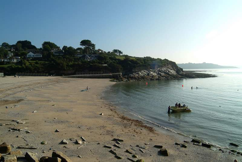 Swanpool beach is less than two miles away, with a beach cafe and popular waterside bistro.