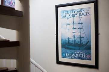 An original Tall Ships poster from the 1998 races.