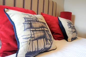 Tall Ships by name and tall ships in the decor!