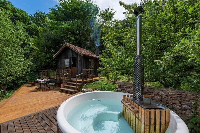 Old Orchard Cabin,Sleeps 2 + cot, Colyton