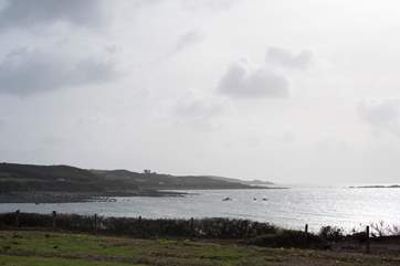 The view from Bryher.