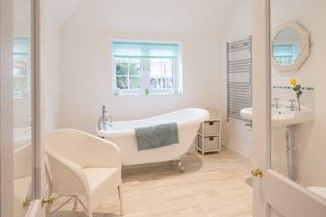 The stunning new en suite is a great addition to the master bedroom