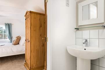 The sparkling en suite shower-room.