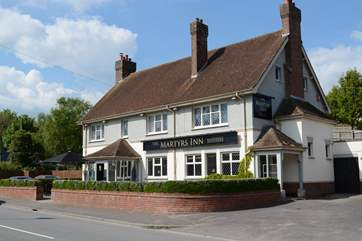 The Martyrs Inn is a five minute stroll from Tolpuddle Cottage and guests will receive a 10% discount.